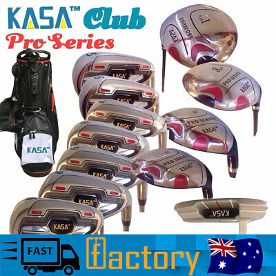 AU344.22 • Buy KASA Men's Graphite Strata Complete Rh-12-Piece Golf Club Set With Bag