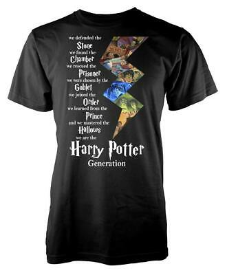 Harry Potter Generation Goblet Chamber Stone Adult T Shirt • 9.99£