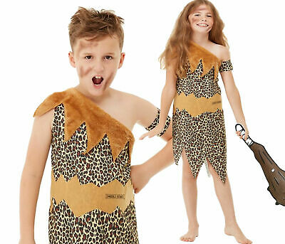 £13.49 • Buy Horrible Histories Cave Boy Girls Costume Childrens Book Day Fancy Dress Outfit