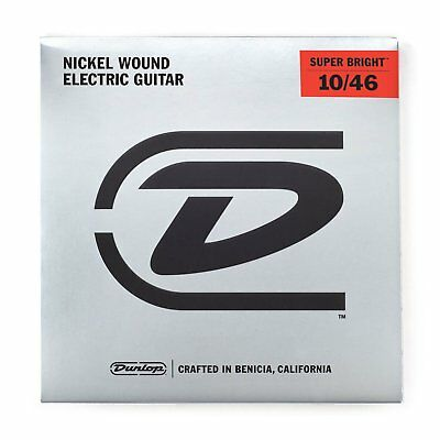 $ CDN14.74 • Buy Jim Dunlop Super Bright 10-46 Electric Guitar Strings DESBN1046 String Set