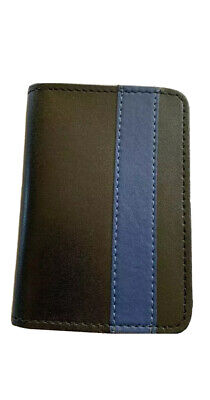 £12.31 • Buy New York City Police Officer Son Thin Blue Line  Mini Shield  ID Wallet