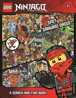 £3.29 • Buy Lego Ninjago: Spot The Samurai-droid: A Search-and-find Book (Paperback)
