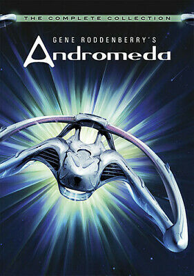 Gene Roddenberry's Andromeda: The Complete Collection [New DVD] Boxed • 29£