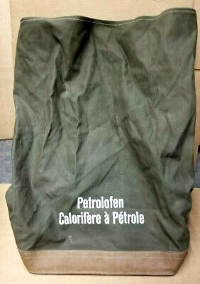 $ CDN46.92 • Buy RARE 5 Gallon Military Gas Can Canvas Backpack Or Truck Carrier Mount