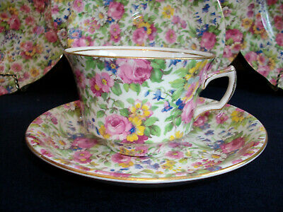 $ CDN35.99 • Buy ROYAL WINTON GRIMWADES SUMMERTIME (c.1932+) CUP & SAUCER- EXCELLENT!!
