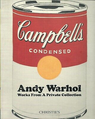 $350 • Buy CHRISTIE'S Andy Warhol Works From A Private Collection Catalog 2016