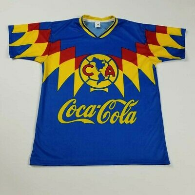 $20 • Buy Club America Retro Soccer Jersey Futbol Mexico Liga Mx