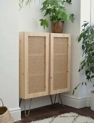 AU75 • Buy Rattan Wicker Cane Webbing Panel Bedhead Lamp Shade Table Cabinet Doors By Meter