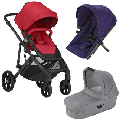 Britax B Ready Foldable Baby Buggy Pushchair Stroller Pram Adjustable From Birth • 209.99£