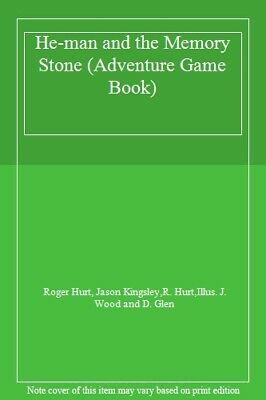 He-man And The Memory Stone (Adventure Game Book) By Roger Hurt, Jason Kingsley • 3.09£
