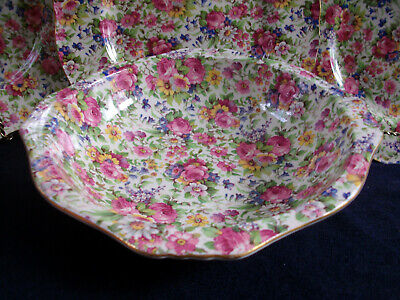 $ CDN108.99 • Buy ROYAL WINTON GRIMWADES SUMMERTIME (c.1940's) SQUARE BOWL 8 1/8  - EXCELLENT!!
