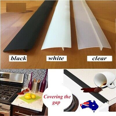 AU8.99 • Buy Silicone Kitchen Stove Counter Gap Cover Oven Guard Spill Easy Clean Seal Filler