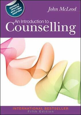 An Introduction To Counselling, Fifth Edition By Mcleod, John Book The Cheap • 55.99£