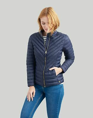 View Details Joules Womens Elodie Quilted Jacket In MARINE NAVY • 34.95£