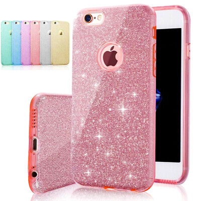 AU7.49 • Buy New 3in1 Layers Bling Glitter Shockproof Soft Gel Case Cover For Apple IPhone