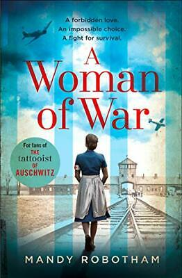 £2.99 • Buy A Woman Of War By Robotham, Mandy Book The Cheap Fast Free Post