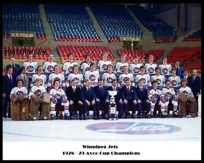 $8.99 • Buy WHA 1978 - 79 Winnipeg Jets Color Team Picture 8 X 10 Photo Free Shipping