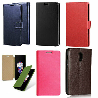 $ CDN7.48 • Buy For OnePlus 2 5 5T 6  Executive Leather Wallet Flip Stand Case Cover Protector