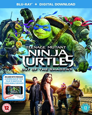 AU5.28 • Buy TMNT OUT OF THE SHADOWS (BRD/ITUNES) Blu-Ray NEW