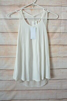 AU24 • Buy Oysho Top Size Large 12 14 White Sleeveless Racerback Tank
