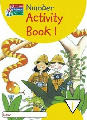 Collins Primary Maths - Year 1 Number Activity Book 1: Year 1 ... Paperback Book • 6.49£