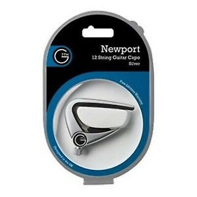 $ CDN67.38 • Buy G7th Newport Silver Capo - 12-String 12-string Acoustic Guitar Capo - Silver