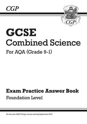 £2.92 • Buy GCSE Combined Science: AQA Answers For Exam Practice Workbook - Foundation CGP