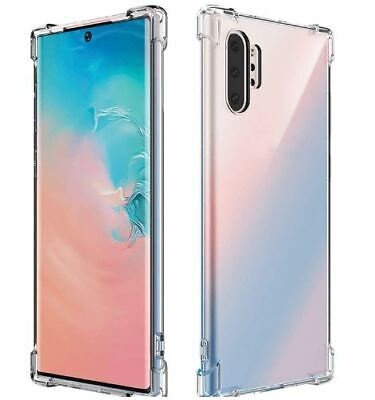 AU5.49 • Buy Samsung Galaxy S10+ S10e S8 + Note 10 9 8 Case Shockproof TOUGH Gel Clear Cover