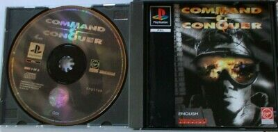 AU39.95 • Buy PS1 Playstation 1 Game -  Command & And Conquer AUST PAL.  30 DAYS WARRANTY.