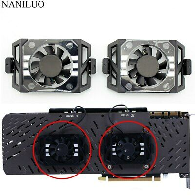 $ CDN37 • Buy Cooler Fan For ZOTAC GTX1060 1070TI 1080 TI PLUS OC GA41S2L DC12V 0.10A