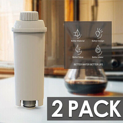 AU22.95 • Buy 2X Compatible Coffee Machine Water Filter For DeLonghi DLSC002, SER3017