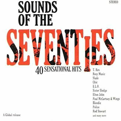 Sounds Of The 70's DOUBLE CD Fast Free UK Postage 5029243000122 • 2.55£