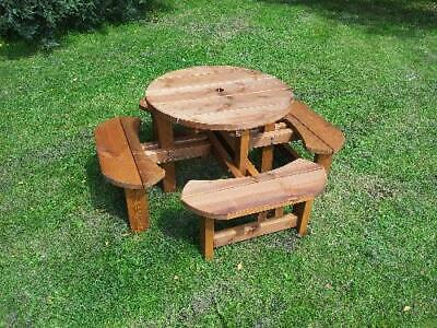 Childrens Bench,Round Picnic Table, 8 Seat Pub Type Bench, 38mm Treated Timber,  • 149£