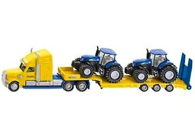 AU38.85 • Buy SIKU Truck With 2 New Holland Tractors 1:87 Scale Die-cast Toy NEW Model 1805