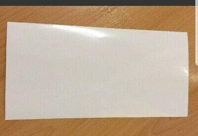 New Quality Cricket Bat Anti Scuff Protection Sheet Clear Plain • 1.50£