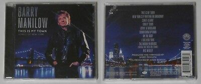 Barry Manilow  This Is My Town   U.S. Cd Factory Sealed Jewel Case • 1.92£