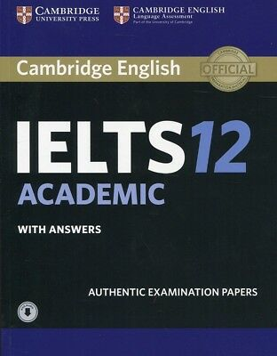 £12.32 • Buy Cambridge IELTS 12 Academic Student's Book With Answers With Audio: Authentic Ex