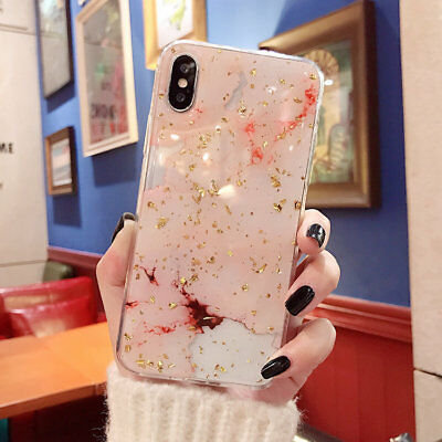 AU7.49 • Buy Marble Bling Case For IPhone 11 Pro XS Max XR 8 Plus 7 6s Tough Slim Soft Cover