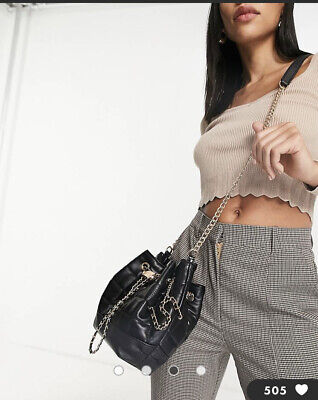 £28.99 • Buy River Island Navy Monogram RI Holdall Weekend Gym Travel Bag New With Tags