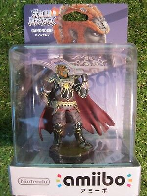 AU37 • Buy Ganondorf Amiibo Legend Of Zelda Nintendo Smash Bros From Japan