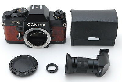 $ CDN313.17 • Buy [Exc+++] Contax RTS Leather-finishing 35mm SLR Film Camera Body From Japan #484