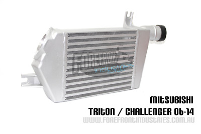 AU349 • Buy Triton Challenger Intercooler UPGRADE MN ML 2.5L 3.2L 2006-15 Diesel