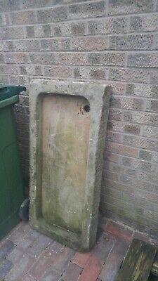 £500 • Buy Sandstone Shallow Trough Sink Planter With Right Hand Return