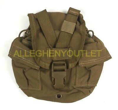 $ CDN18.03 • Buy US Military USMC 1 QT MOLLE Coyote Brown CANTEEN COVER Carrier Utility Pouch VGC
