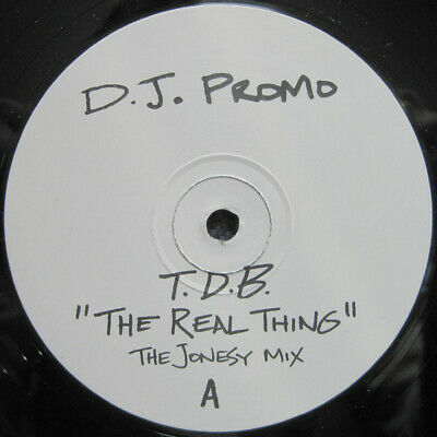 T.D.B.* - The Real Thing, 12 , Promo, (Vinyl) • 12.90£