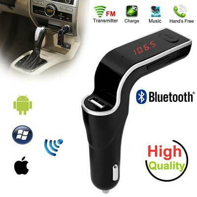 Bluetooth Car Kit MP3 Player FM Transmitter Wireless Radio Adapter USB Charger S • 4.38£