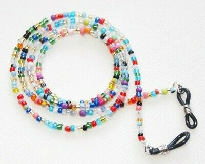 Spectacle/Sun Glasses Chain/Cord Mixed Colour 3mm Beads MCFGC2 • 3.49£