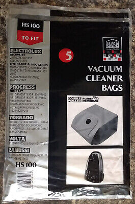 Vacuum Cleaner Bags HS 100 To Fit Electrolux, Progress, Tornado, Vota, Zanussi  • 3.49£