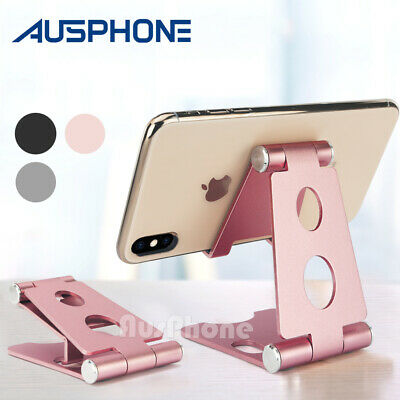 AU12.45 • Buy Aluminum Multi-angle Holder Stand For IPad Tablet IPhone XS EReader Kindle Phone