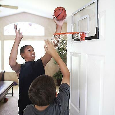 View Details Mini Basketball Hoop System W/Ball Home Office Wall Basketball Net Goal Door Use • 25.99$